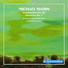 Michael Haydn (1737-1806): Symphonien Nr.13 & 20, CD