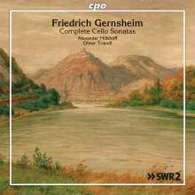 Friedrich Gernsheim (1839-1916): Cellosonaten Nr.1-3 (op.12,79,87), CD