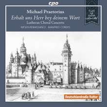 Michael Praetorius (1571-1621): Lutherische Choralkonzerte, CD