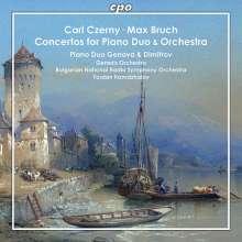 Carl Czerny (1791-1857): Konzert op.153 für Klavier 4-händig & Orchester, CD