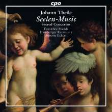 Johann Theile (1646-1724): Geistliche Kantaten, CD