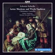 Johann Schelle (1648-1701): Weihnachtskantaten, CD