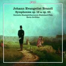 Johann Evangelist Brandl (1760-1837): Symphonien Es-Dur op.12 & D-Dur op.25, CD