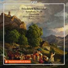 Friedrich Schneider (1786-1853): Symphonie Nr.16 A-Dur, CD