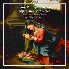 Georg Philipp Telemann (1681-1767): Weihnachtsoratorien, CD