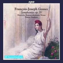 Francois-Joseph Gossec (1734-1829): Symphonien op.4 Nr.1-6 (B.19-24), CD