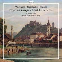 Michael Hell - Steirische Cembalokonzerte, CD