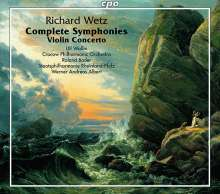 Richard Wetz (1875-1935): Symphonien Nr.1-3, 4 CDs