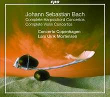 Johann Sebastian Bach (1685-1750): Sämtliche Konzerte (Concerto Copenhagen), 5 CDs