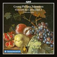 Georg Philipp Telemann (1681-1767): Concerti da Camera Vol.2, CD