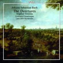 Johann Sebastian Bach (1685-1750): Orchestersuiten Nr.1-4 (Erstfassung ohne Trompeten), 2 CDs