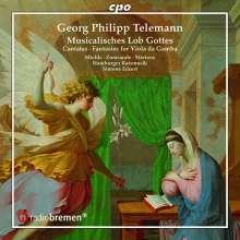 """Georg Philipp Telemann (1681-1767): Kantaten (aus """"Musicalisches Lob Gottes""""), CD"""