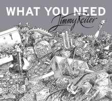 Jimmy Reiter: What You Need (180g) (signiert, exklusiv für jpc), LP