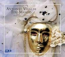 Antonio Vivaldi (1678-1741): Tito Manlio RV 738, 3 CDs