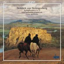 Heinrich von Herzogenberg (1843-1900): Symphonien Nr.1 & 2, CD