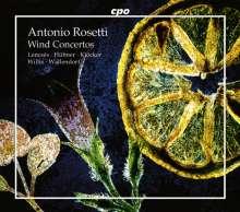 Antonio Rosetti (1750-1792): Bläserkonzerte, 4 CDs
