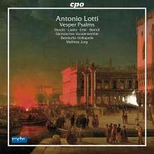 Antonio Lotti (1666-1740): Vesperpsalmen, CD