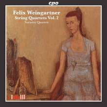 Felix Weingartner (1863-1942): Streichquartette Vol.2, CD