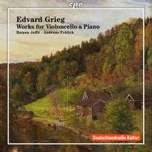 Edvard Grieg (1843-1907): Sonate für Cello & Klavier op.36, CD