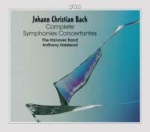 Johann Christian Bach (1735-1782): Konzertante Sinfonien Vol.1-6, 6 CDs