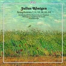 Julius Röntgen (1855-1932): Symphonien Nr.7,11,12,14,22-24, 2 CDs
