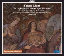 Franz Liszt (1811-1886): Die Legende von der heiligen Elisabeth, 2 CDs