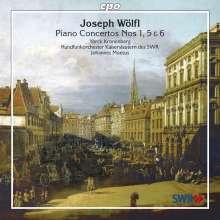 Joseph Wölfl (1773-1812): Klavierkonzerte Nr.1,5,6 (opp.20,43,49), CD