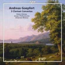 Carl Andreas Göpfert (1768-1818): Klarinettenkonzerte opp.14,20,35, CD