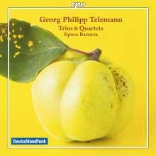 Georg Philipp Telemann (1681-1767): Triosonaten, CD