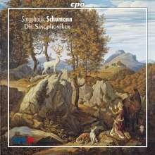 Robert Schumann (1810-1856): Singphonic Schumann - Sämtliche Lieder für Männerchor, CD