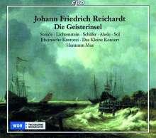 Johann Friedrich Reichardt (1752-1814): Die Geisterinsel (Singspiel in 3 Akten), 2 CDs
