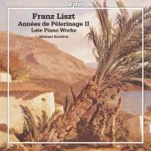 Franz Liszt (1811-1886): Annees de Pelerinage (2.Jahr:Italien), CD