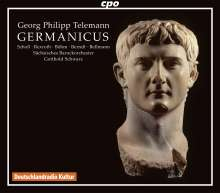 Georg Philipp Telemann (1681-1767): Germanicus TVWV deest, 3 CDs