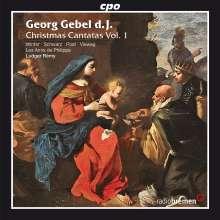 Georg Gebel (1709-1753): Weihnachtskantaten Vol.1, CD