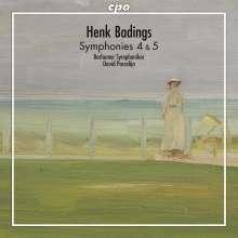 Henk Badings (1907-1987): Symphonien Nr.4 & 5, CD