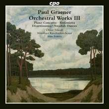 Paul Graener (1872-1944): Klavierkonzert op. 72, CD