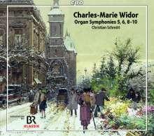 Charles-Marie Widor (1844-1937): Orgelsymphonien Nr.5,6,8-10, 3 Super Audio CDs