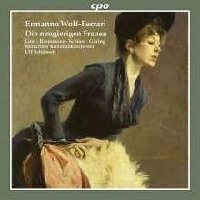 Ermanno Wolf-Ferrari (1876-1948): Die neugierigen Frauen, 2 CDs