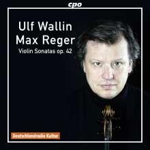 Max Reger (1873-1916): Sonaten für Violine solo op.42 Nr.1-4, CD