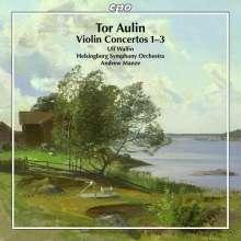 Tor Aulin (1866-1914): Violinkonzerte Nr.1-3, CD