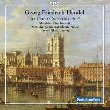 Georg Friedrich Händel (1685-1759): Klavierkonzerte Nr.1-6 (op.4 Nr.1-6), Super Audio CD
