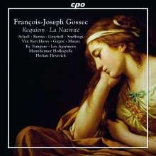 """Francois-Joseph Gossec (1734-1829): Weihnachtsoratorium """"La Nativite"""", CD"""