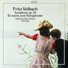 Fritz Volbach (1861-1940): Symphonie h-moll op.33, CD