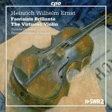"""Heinrich Wilhelm Ernst (1814-1865): Werke für Violine & Ensemble """"The Virtuoso Violin"""", 2 CDs"""