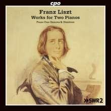 Franz Liszt (1811-1886): Werke für 2 Klaviere, CD