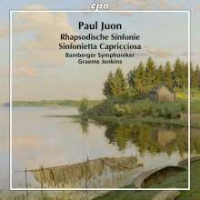 Paul Juon (1872-1940): Rhapsodische Symphonie op. 95, CD