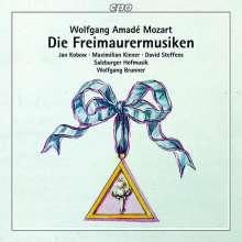 Wolfgang Amadeus Mozart (1756-1791): Freimaurermusik (Ges.-Aufn.), CD
