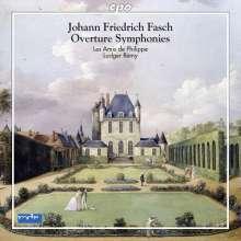 Johann Friedrich Fasch (1688-1758): Ouvertüren-Sinfonien, CD