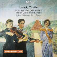 Ludwig Thuille (1861-1907): Kammermusik, 2 CDs