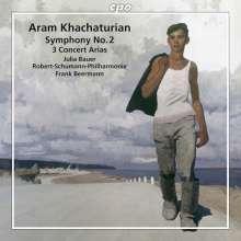 Aram Khachaturian (1903-1978): Symphonie Nr.2, CD